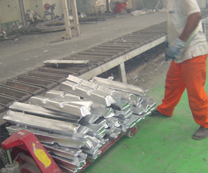 aluminium dry hearth furnace pressure furnace tilting type